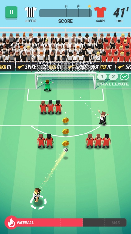 Tiny Striker: World Football screenshot-4