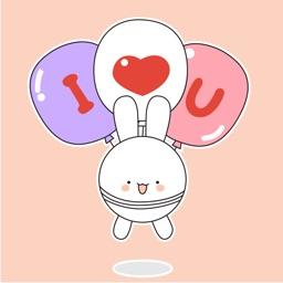 Rabbit Couple Animated