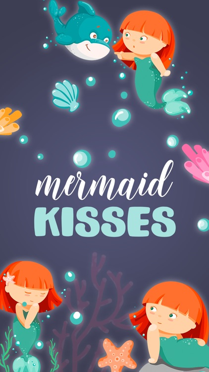 Mermaid Kisses Emojis Stickers