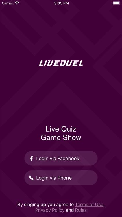 LiveDuel Trivia