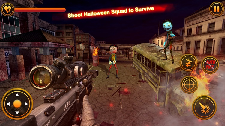 Stickman Zombie Sniper Shooter