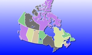 Canada Map Quiz: Education Ed.
