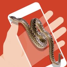Snake on Screen - Prank Game