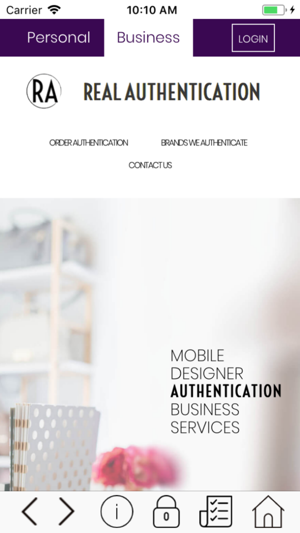 b4220dc723cd REAL AUTHENTICATION on the App Store