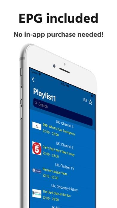 Simple IPTV Playlist Screenshots