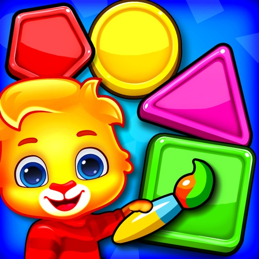 Colors & Shapes - Learn Color