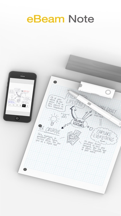eBeam note (for Smartpen)
