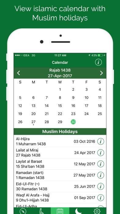 Calendario Islamico 1438.Momenti Di Preghiera Musulmani Per Appaspect Technologies