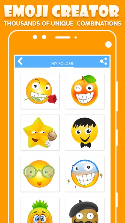 Emoji Creator: Emoticons Maker screenshot-3