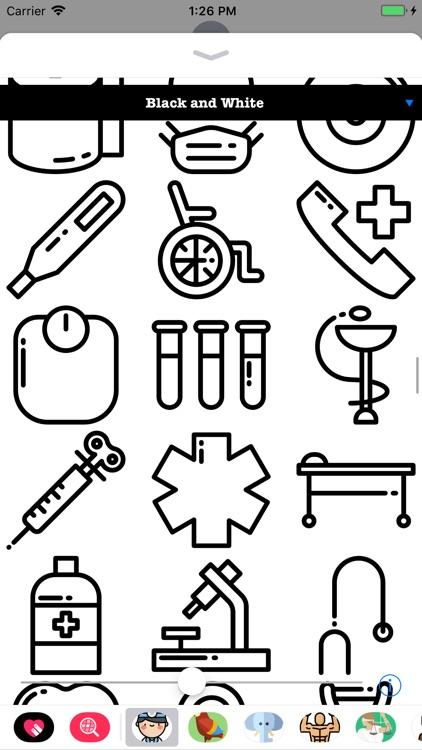 Doctor Stickers HD screenshot-4