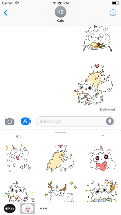 Fluffcorn Animated Stickers screenshot-3