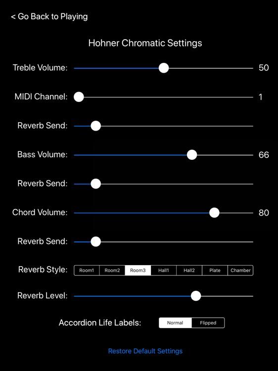 Hohner Chromatic Accordion screenshot-4