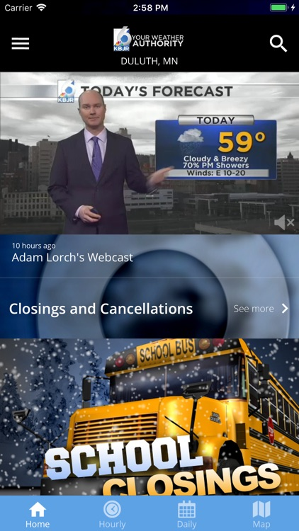 KBJR 6 Weather screenshot-1