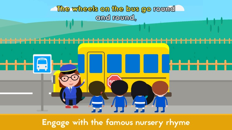 Sing & Play: Wheels on the bus screenshot-0