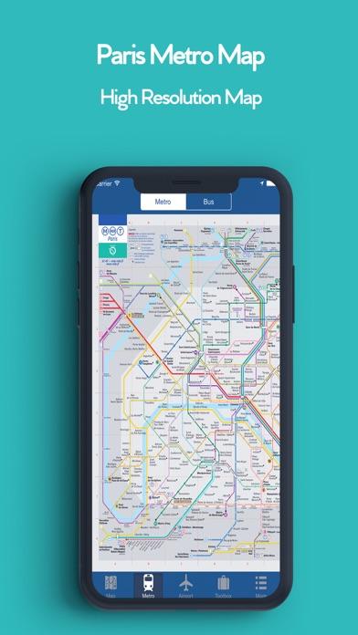 パリオフライン地図 - シティメトロエアポートのおすすめ画像3