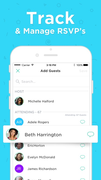 Hobnob Invitations & Text RSVP screenshot 8