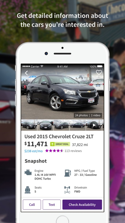 Cars.com - New & Used Cars screenshot-3