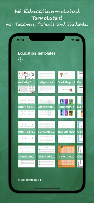 Education Templates By Nobody On The App Store