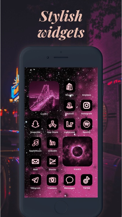 Icon Theme - Aesthetic Kit screenshot-5