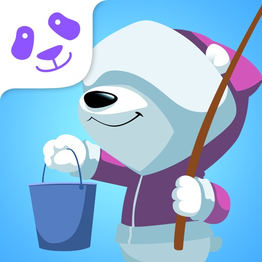 Square Panda Fishing