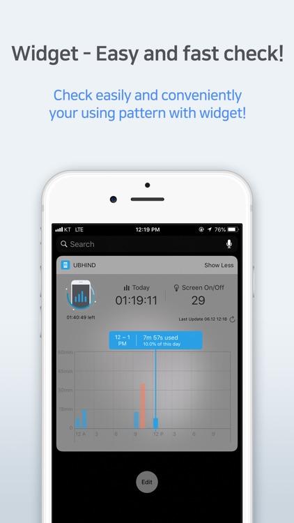 UBhind - Mobile Life Pattern screenshot-3