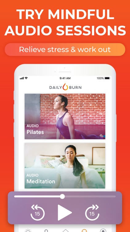 At Home Workouts by Daily Burn screenshot-5