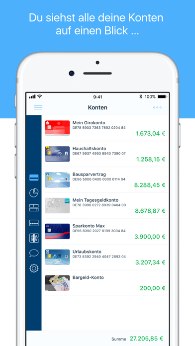 finanzblick Online-BankingScreenshot von 1