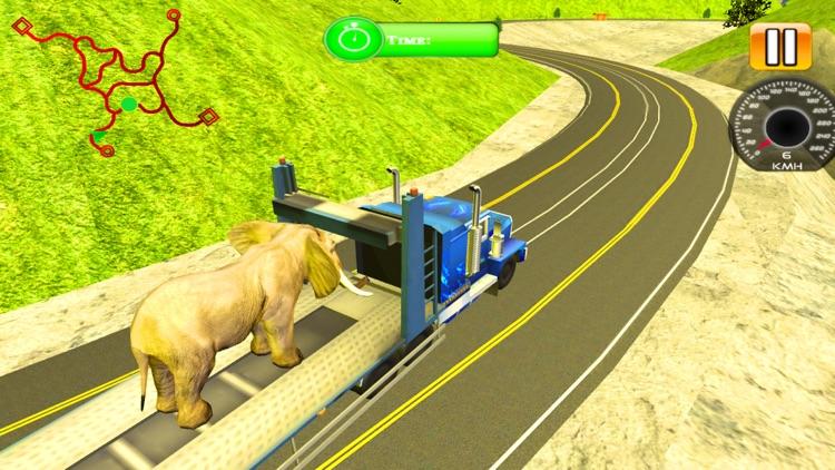 Zoo Animal Transport Truck screenshot-3