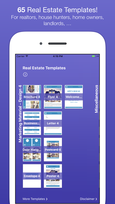 RealEstate Templates for Pages