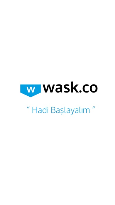 WaskApp screenshot one