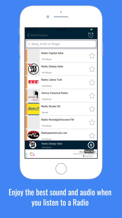 Radio World: Radio FM AM World screenshot-8