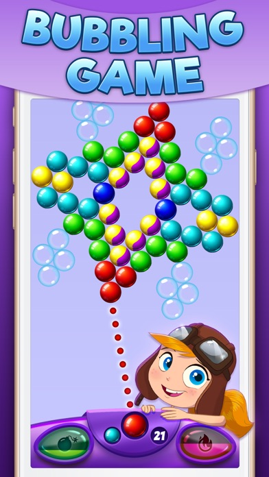 Bubble Drop Fever screenshot one