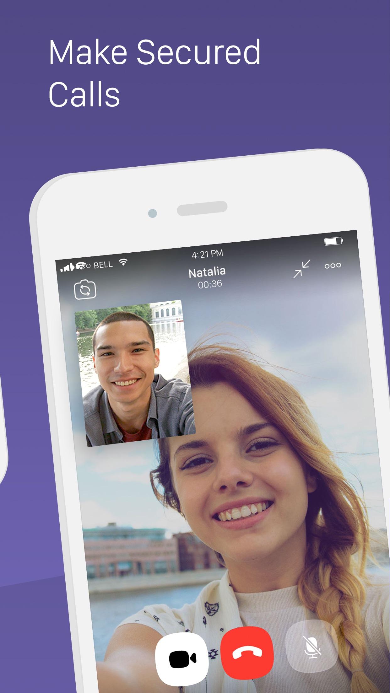 Viber Messenger – Text & Call Screenshot