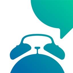 TalkingAlarm - alarm clock