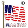 Animated Flag Day Sticker