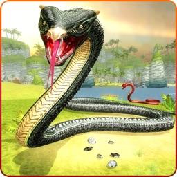 Anaconda Snake Attack