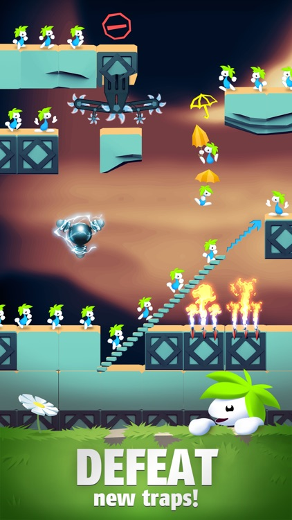 Lemmings: The Puzzle Adventure screenshot-7