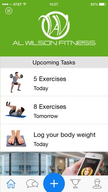 Al Wilson Fitness Tracker