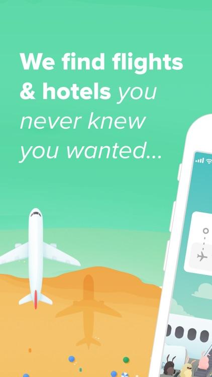 Hopper - Book Flights & Hotels screenshot-0