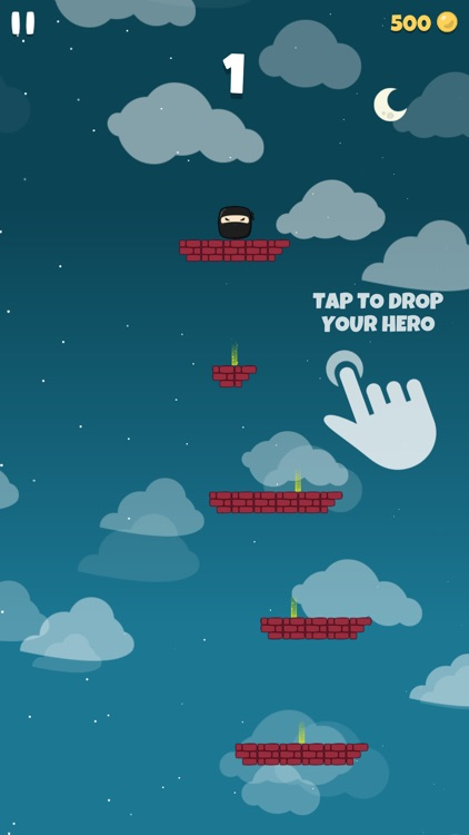 Falling Hero ! screenshot-0