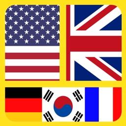 Flag Mania : Word Guess&Trivia