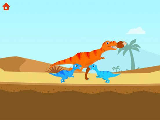 子供のための恐竜ゲーム-ジュラシックアドベンチャーのおすすめ画像1