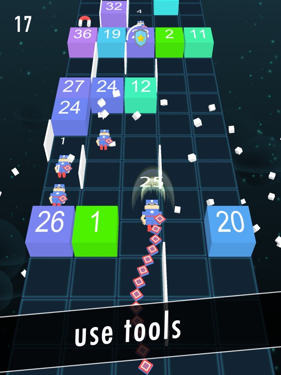 Balls Snake-Hit Up Number Cube-ipad-2