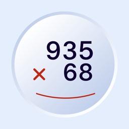 Long multiplication training