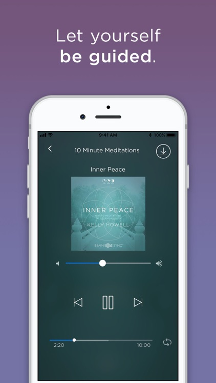 Meditate Me Guided Meditation screenshot-1
