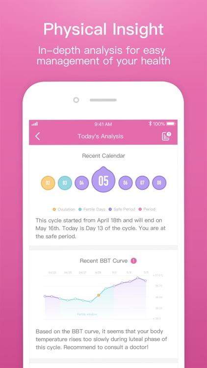 Femometer - Fertility Tracker screenshot-3