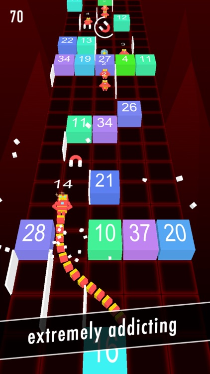 Balls Snake-Hit Up Number Cube screenshot-3