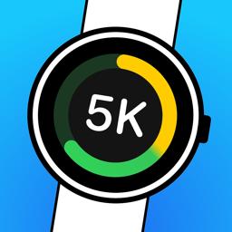 Ícone do app Watch to 5K - Couch to 5km Run
