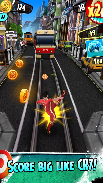 Cristiano Ronaldo: Kick'n'Run screenshot-3