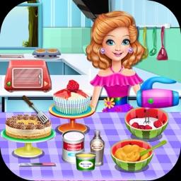 Cooking Game,Sandra's Desserts